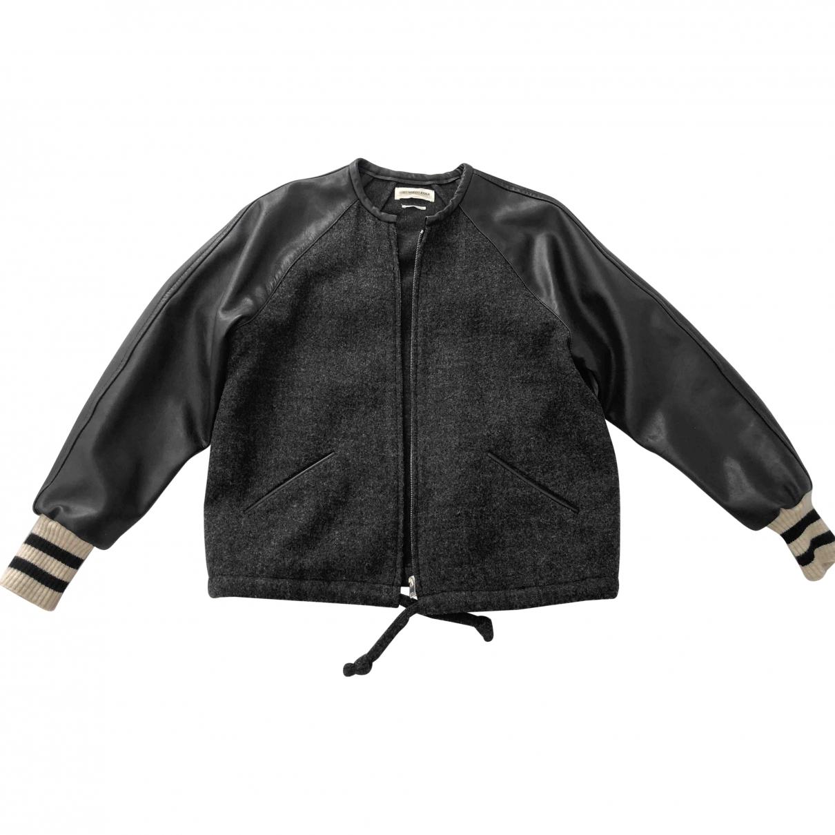 Isabel Marant Etoile \N Anthracite Leather jacket for Women 36 FR