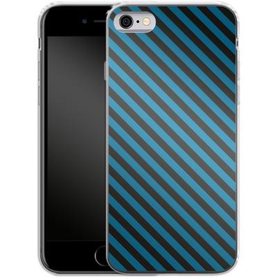 Apple iPhone 6s Silikon Handyhuelle - Stripes von caseable Designs