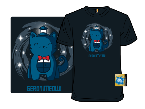 Geronimeow T Shirt