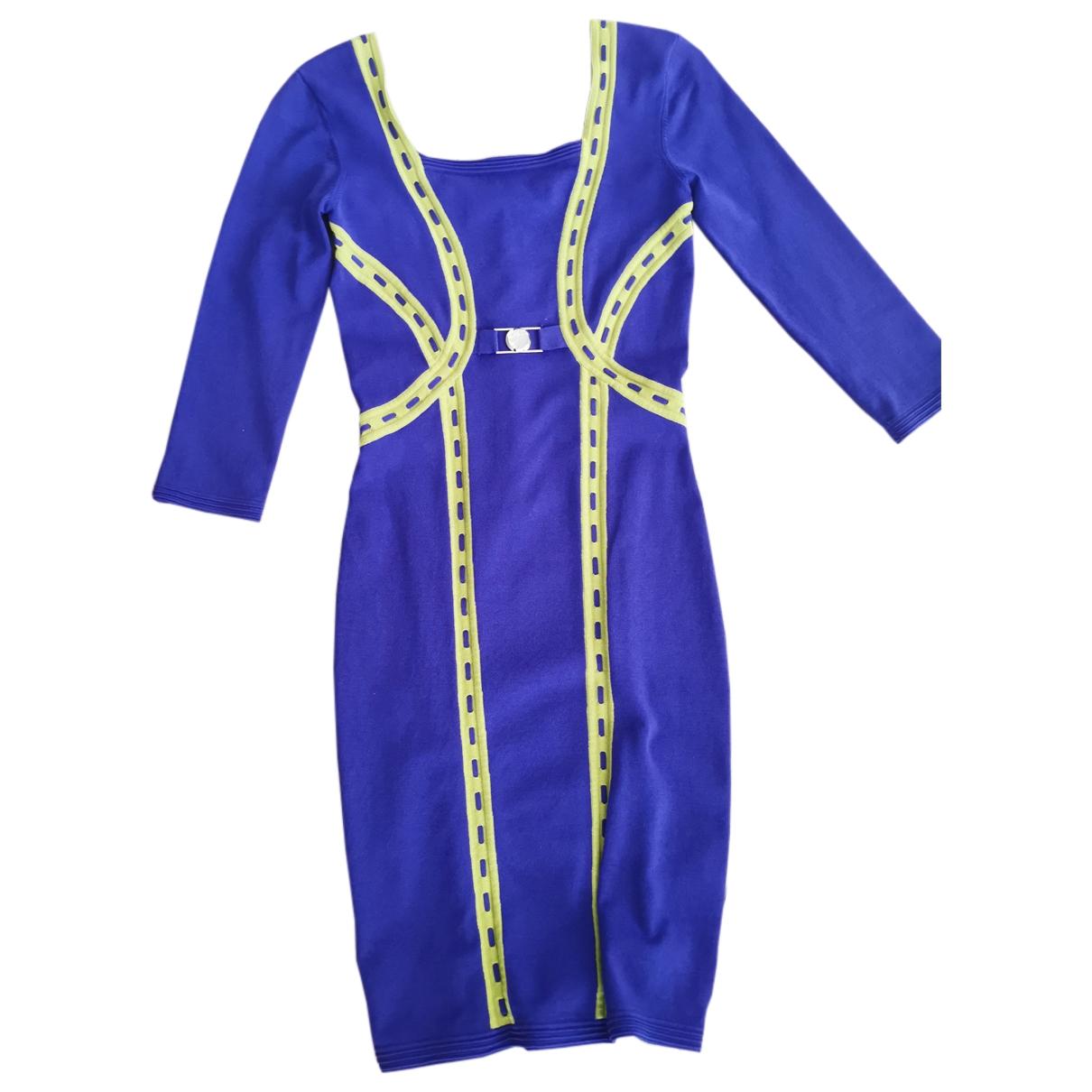 Versace \N Kleid in  Lila Baumwolle - Elasthan