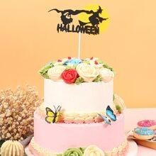 1 pieza decoracion de pastel de halloween