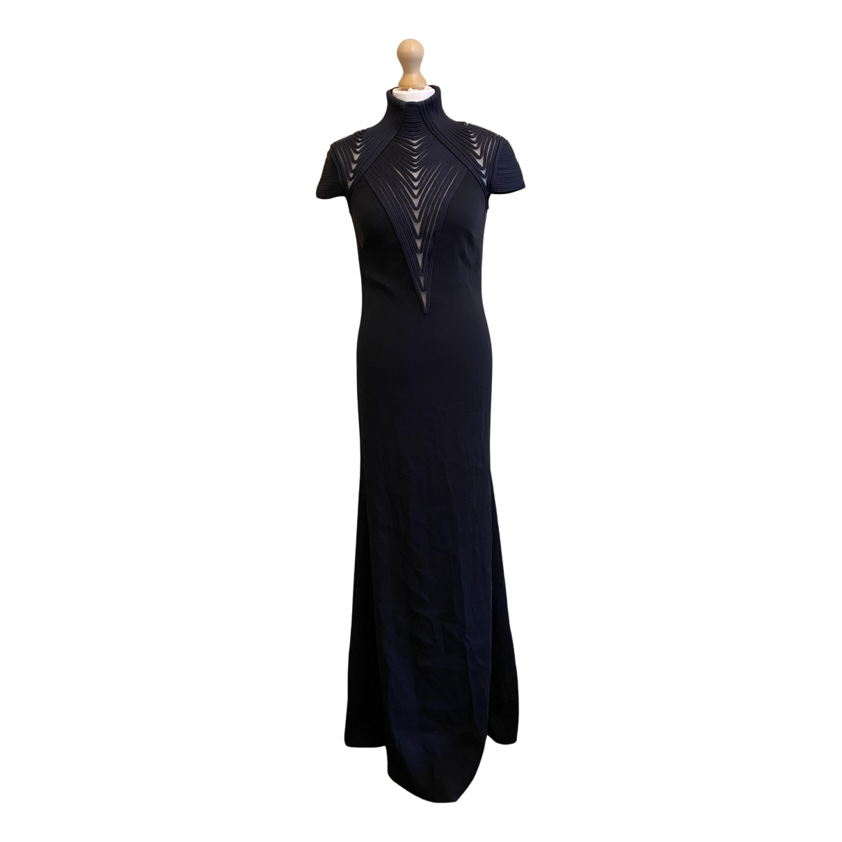 Ralph Lauren Collection \N Kleid in  Schwarz Seide