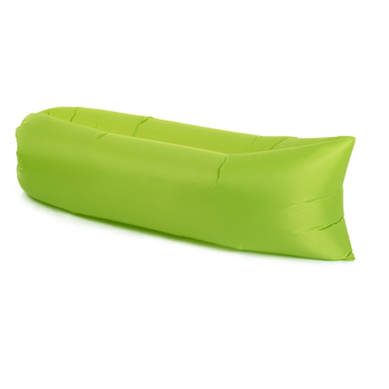 Portable Soft Polyester Fibre Bright Color Air Sofa