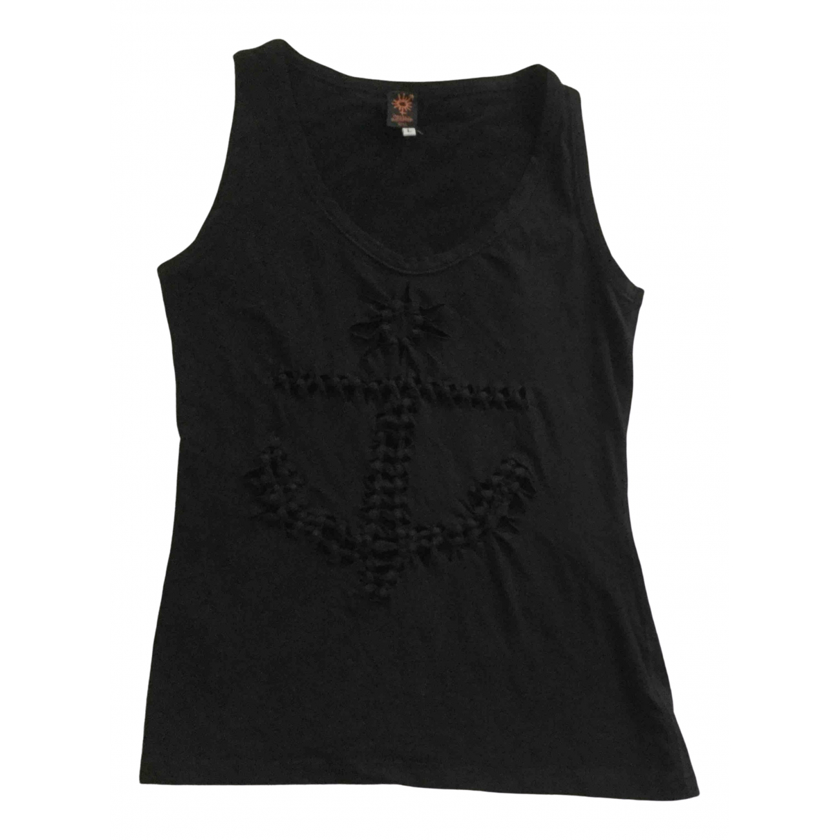 Jean Paul Gaultier - Top   pour femme en coton - noir