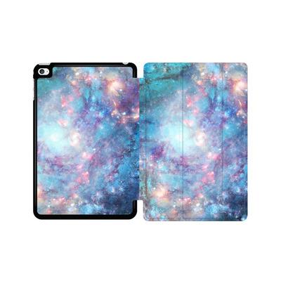Apple iPad mini 4 Tablet Smart Case - Abstract Galaxy - Blue von Barruf