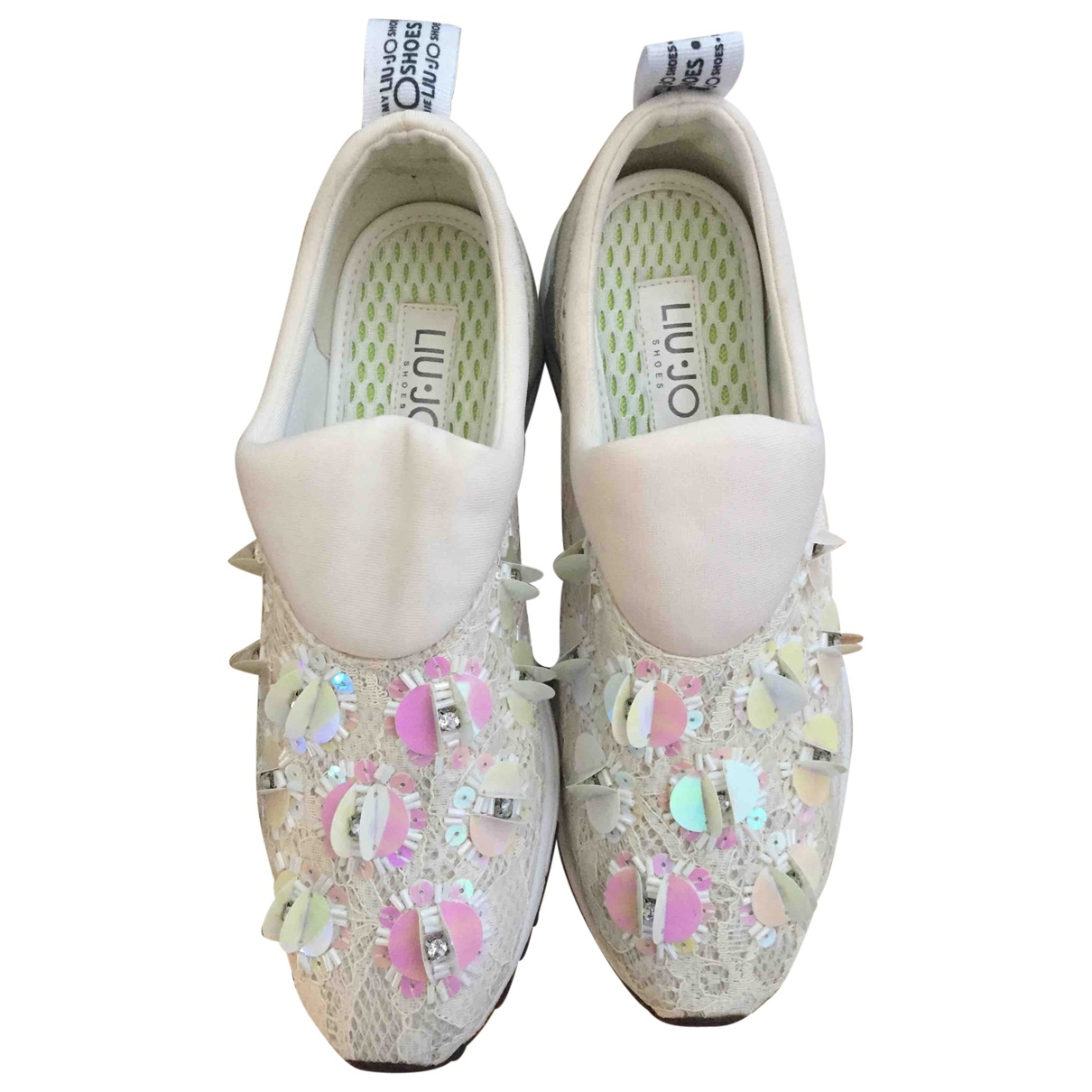 Liu.jo \N Sneakers in  Weiss Mit Pailletten