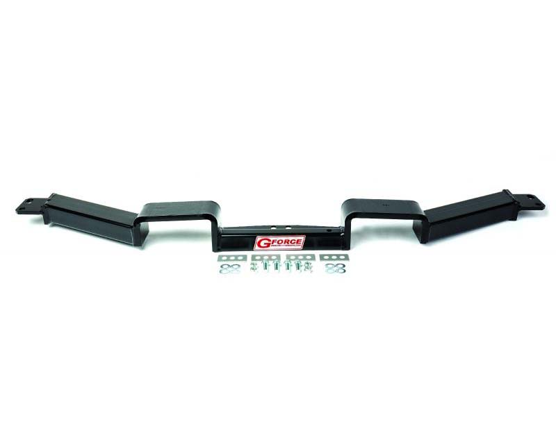 GForce Crossmembers GM Trans-Crossmember,SuperDuty Steel, PowderCoated, Double-Hump for Dual Exhaust
