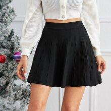 Faldas de Punto Liso Casual