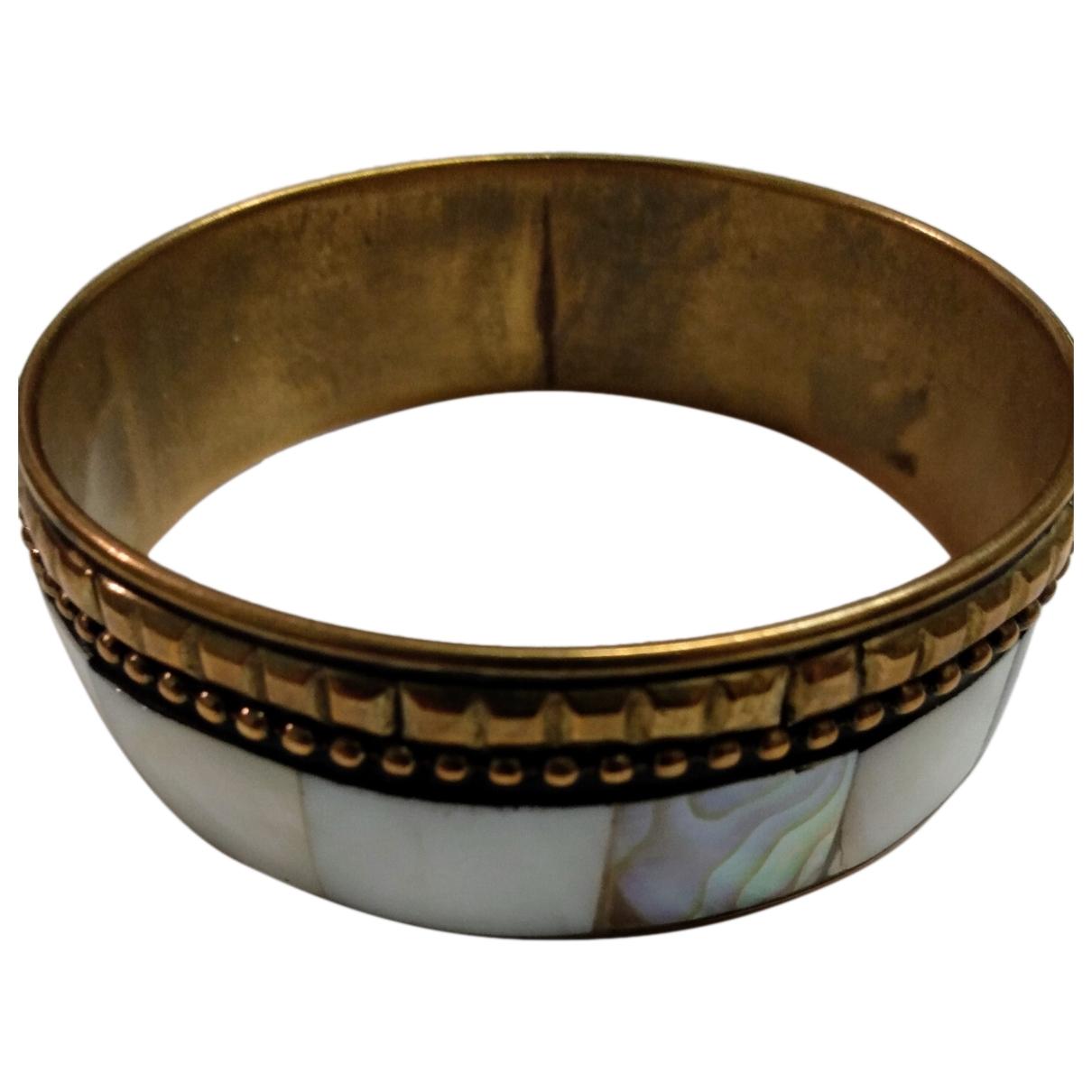 Non Signé / Unsigned Motifs Ethniques Metal bracelet for Women \N