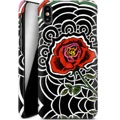 Apple iPhone XS Max Smartphone Huelle - Marions Rose von Kaitlyn Parker