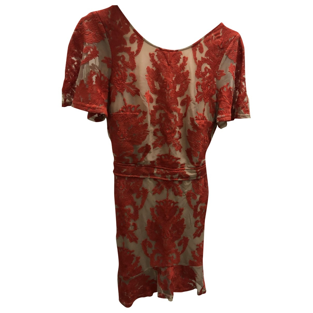 For Love & Lemons \N Red Cotton dress for Women XS International