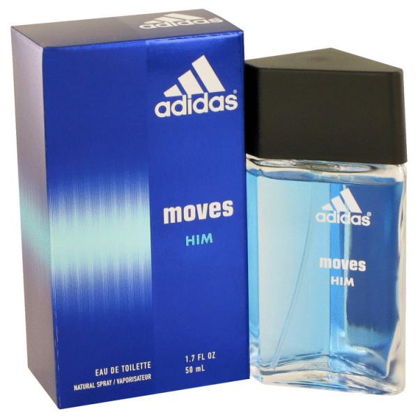 Adidas - Adidas Moves : Eau de Toilette Spray 1.7 Oz / 50 ml