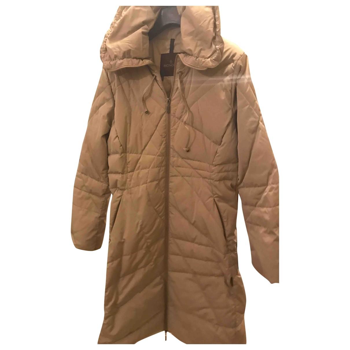 Moncler Classic Beige coat for Women 2 0-5