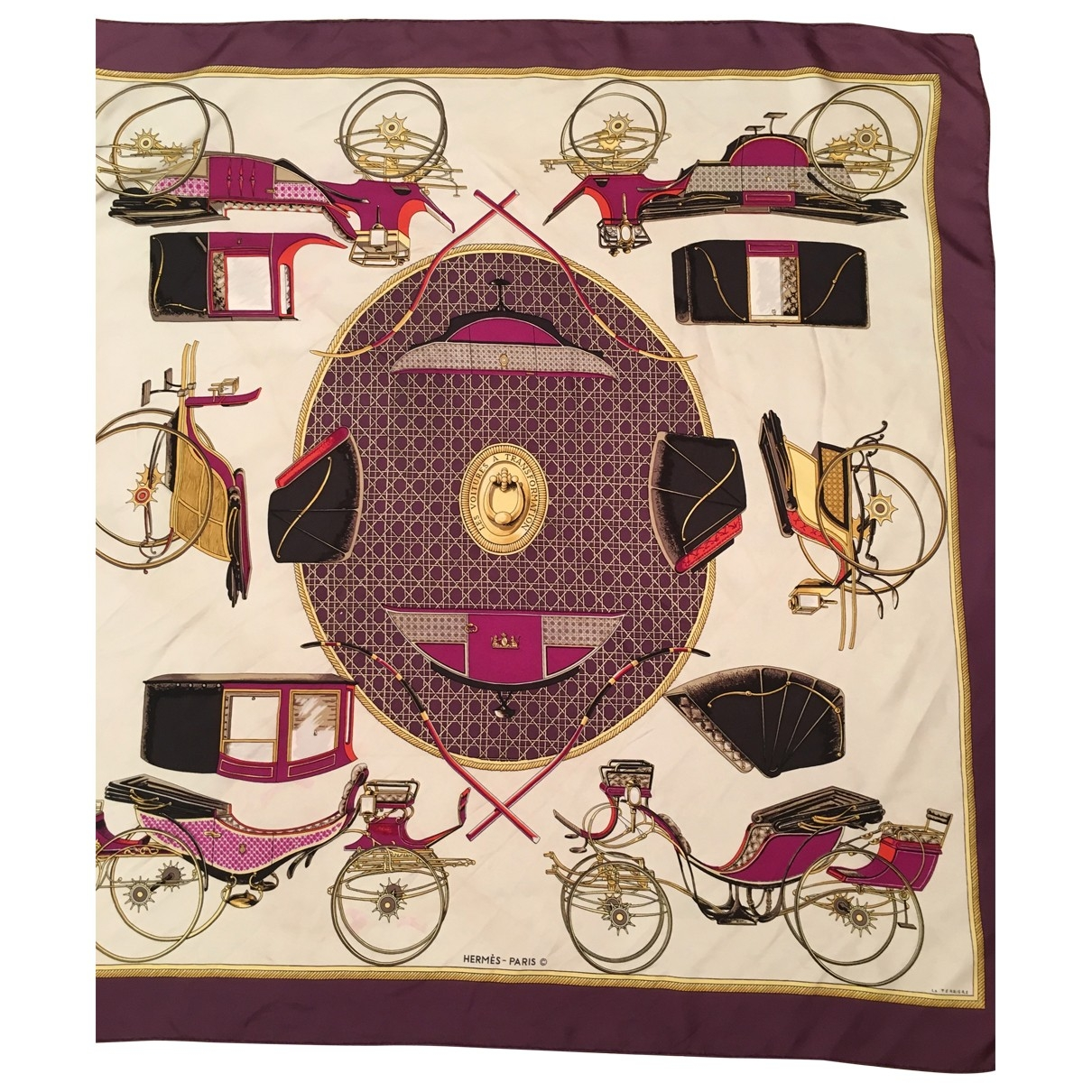 Pañuelo Carre Geant silk de Seda Hermes