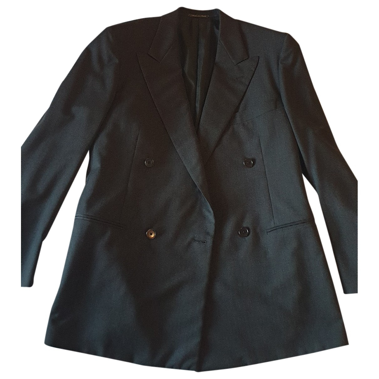 Corneliani \N Anthracite Wool jacket  for Men M International