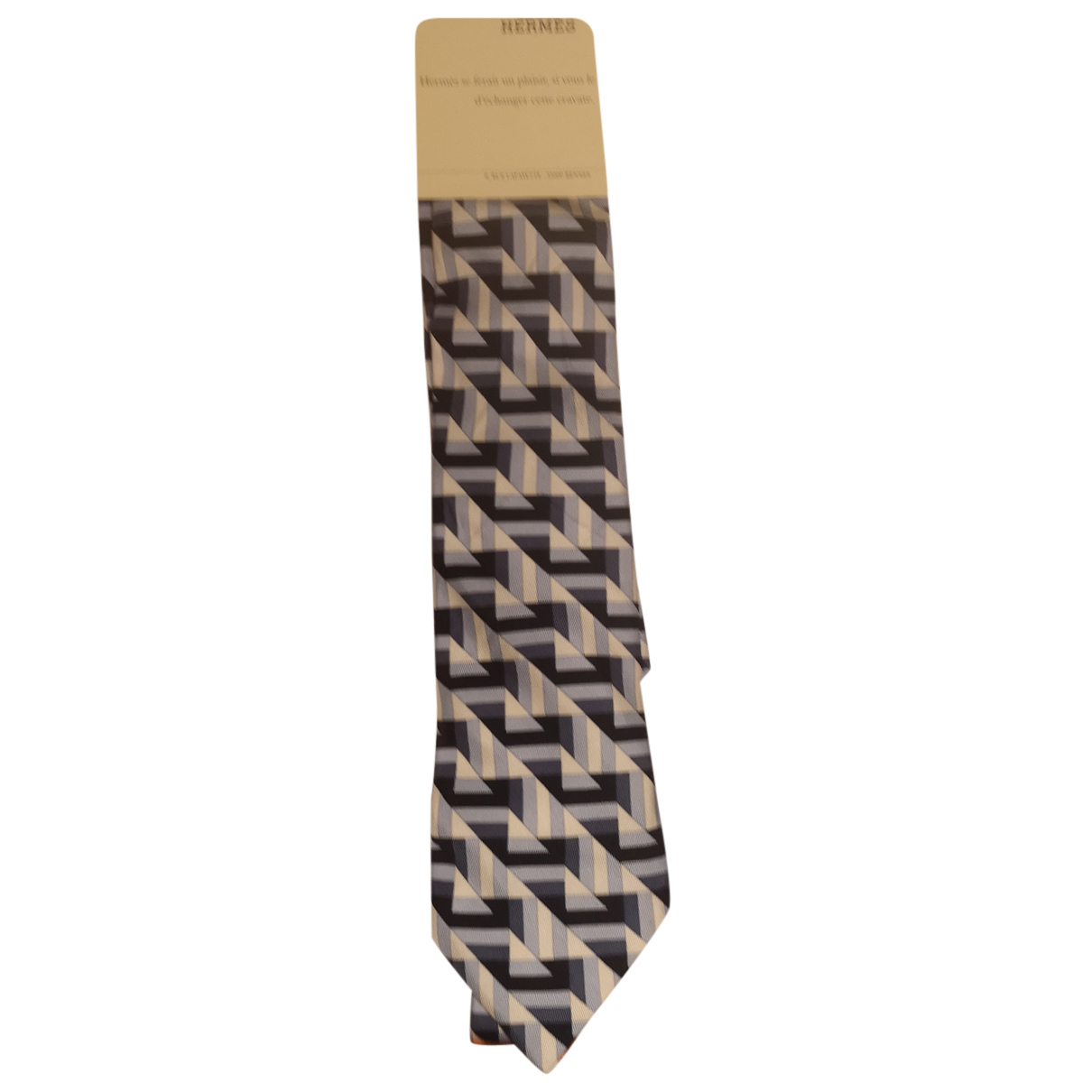 Hermès N Multicolour Silk Ties for Men N
