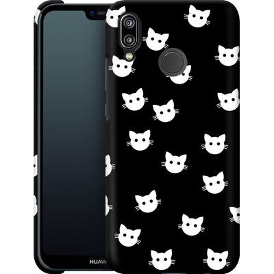Huawei P20 Lite Smartphone Huelle - Cat Pattern von caseable Designs