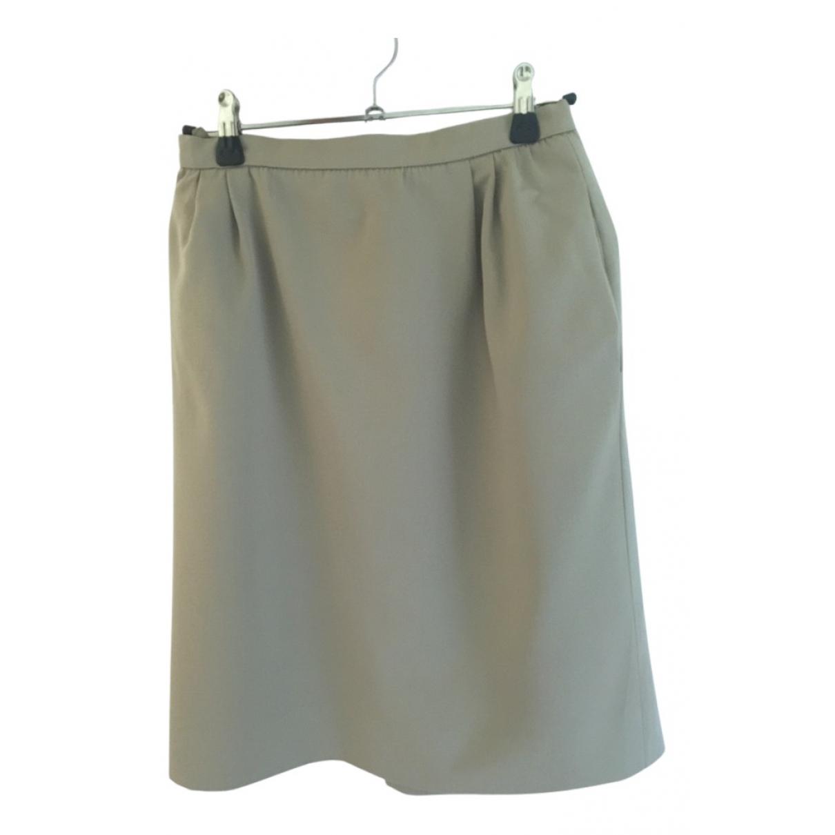 Valentino Garavani - Jupe   pour femme en coton - beige