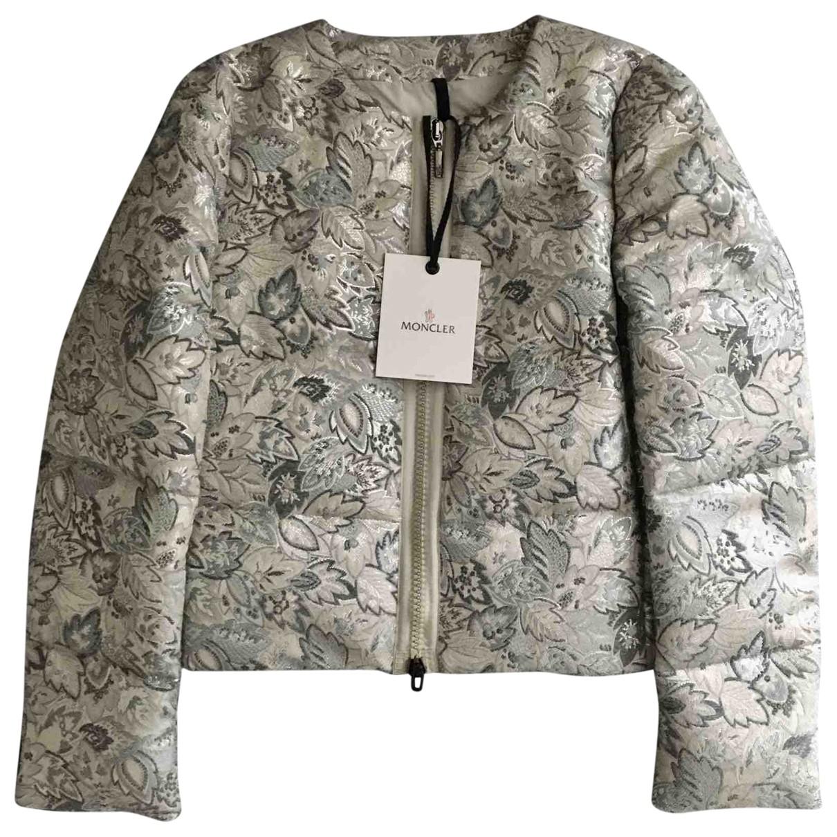 Moncler - Manteau Print pour femme - gris
