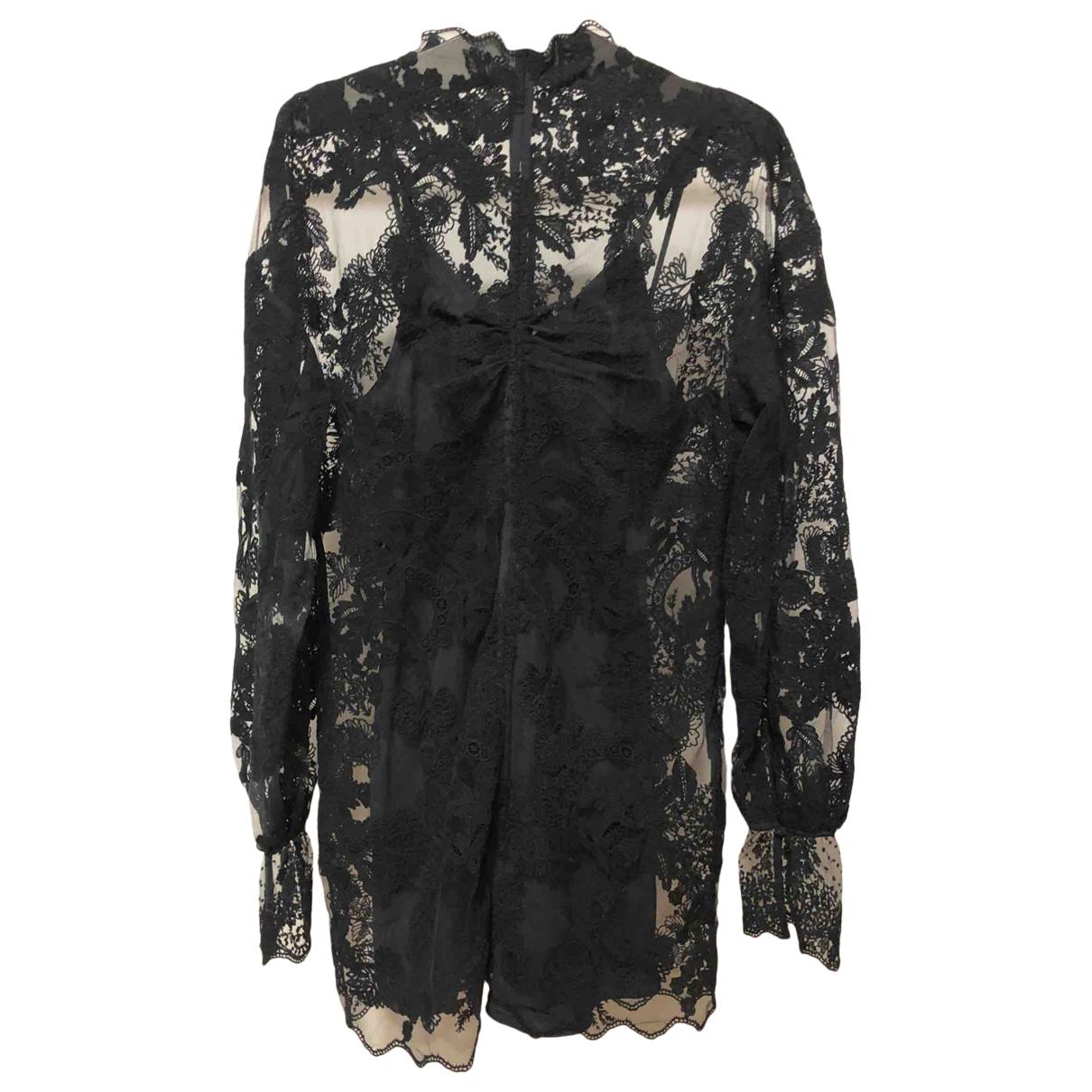 Hm Conscious Exclusive \N Kleid in  Schwarz Baumwolle - Elasthan