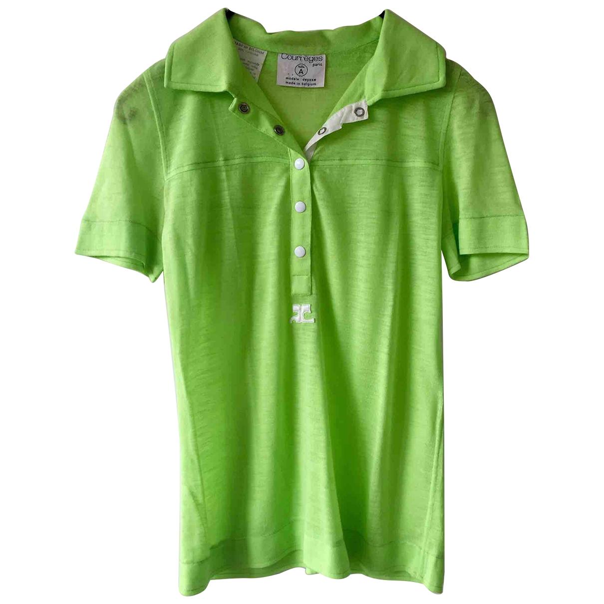 Courreges - Top   pour femme - vert