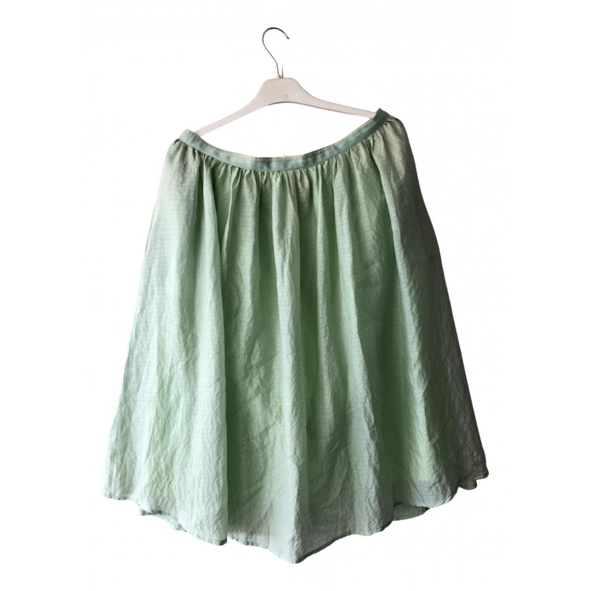Lovechild 1979 \N Green Silk skirt for Women XL International