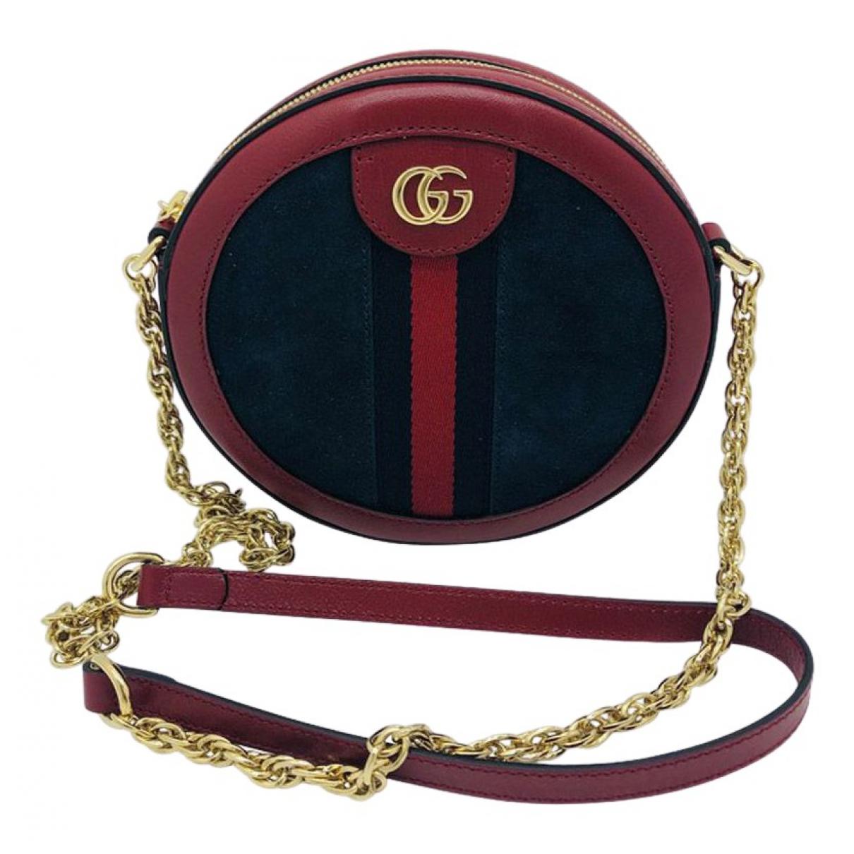 Gucci \N Blue Suede handbag for Women \N