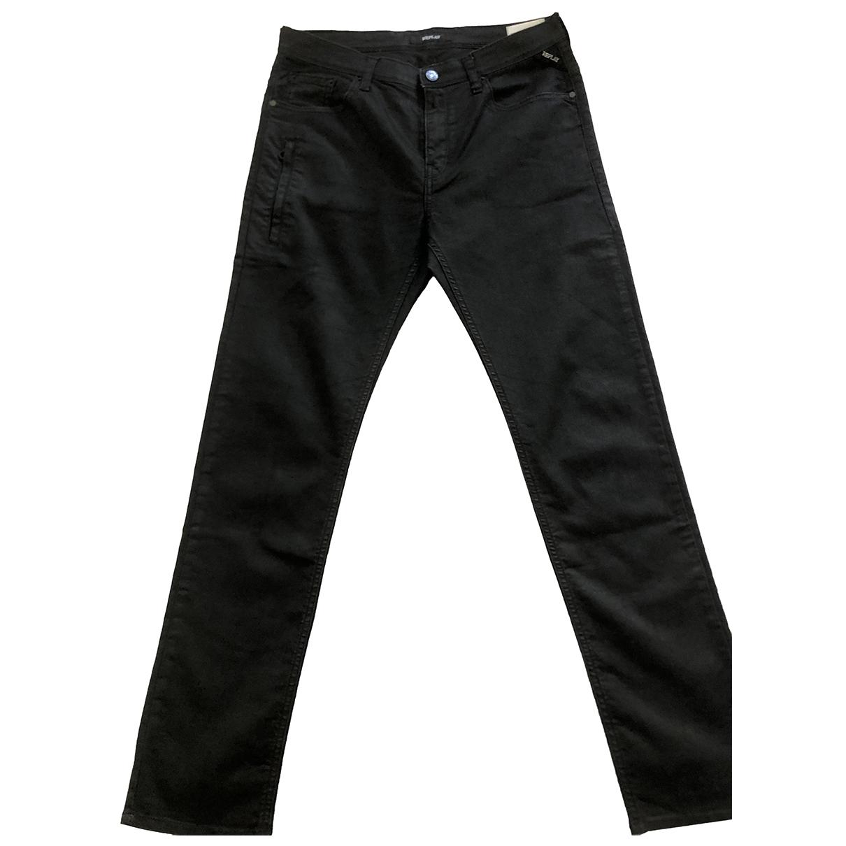Replay - Pantalon   pour enfant en coton - noir
