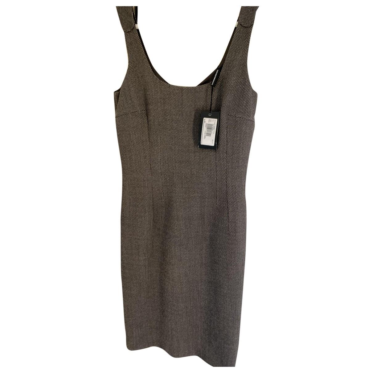 Emporio Armani \N Kleid in  Beige Wolle