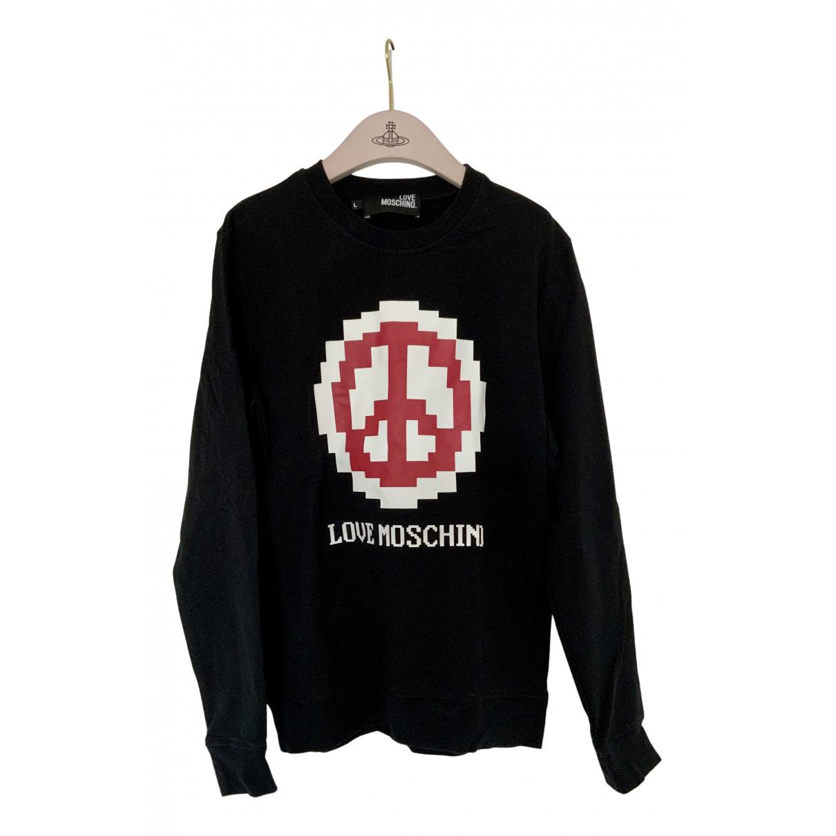 Moschino Love N Black Cotton Knitwear for Women L International