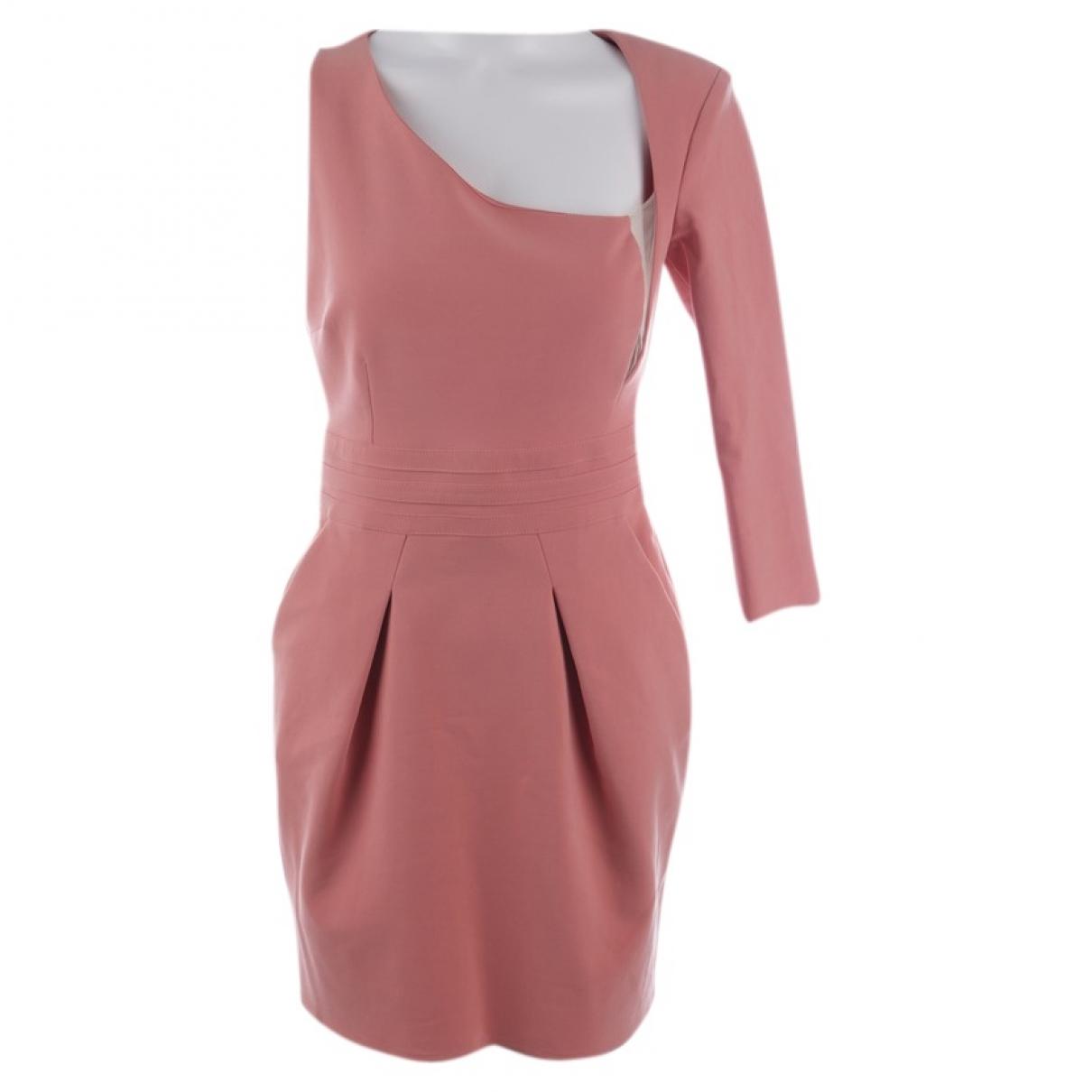 Elisabetta Franchi \N Orange Cotton dress for Women 36 FR