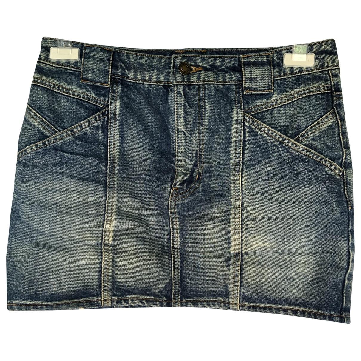 Mini falda Saint Laurent