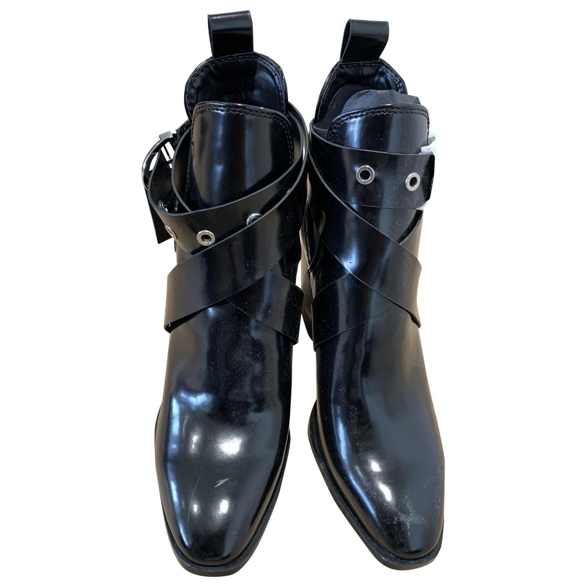 Zara \N Black Boots for Women 38 EU