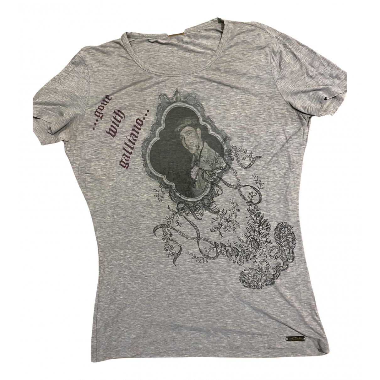 Galliano N Grey T-shirts for Men XL International