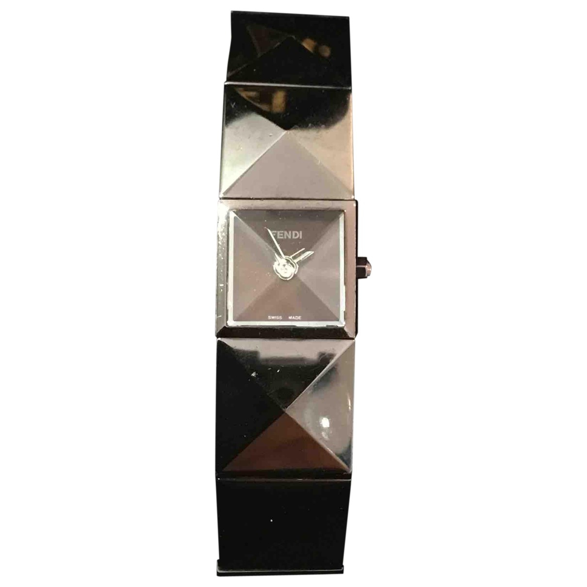 Fendi \N Metallic Steel watch for Women \N