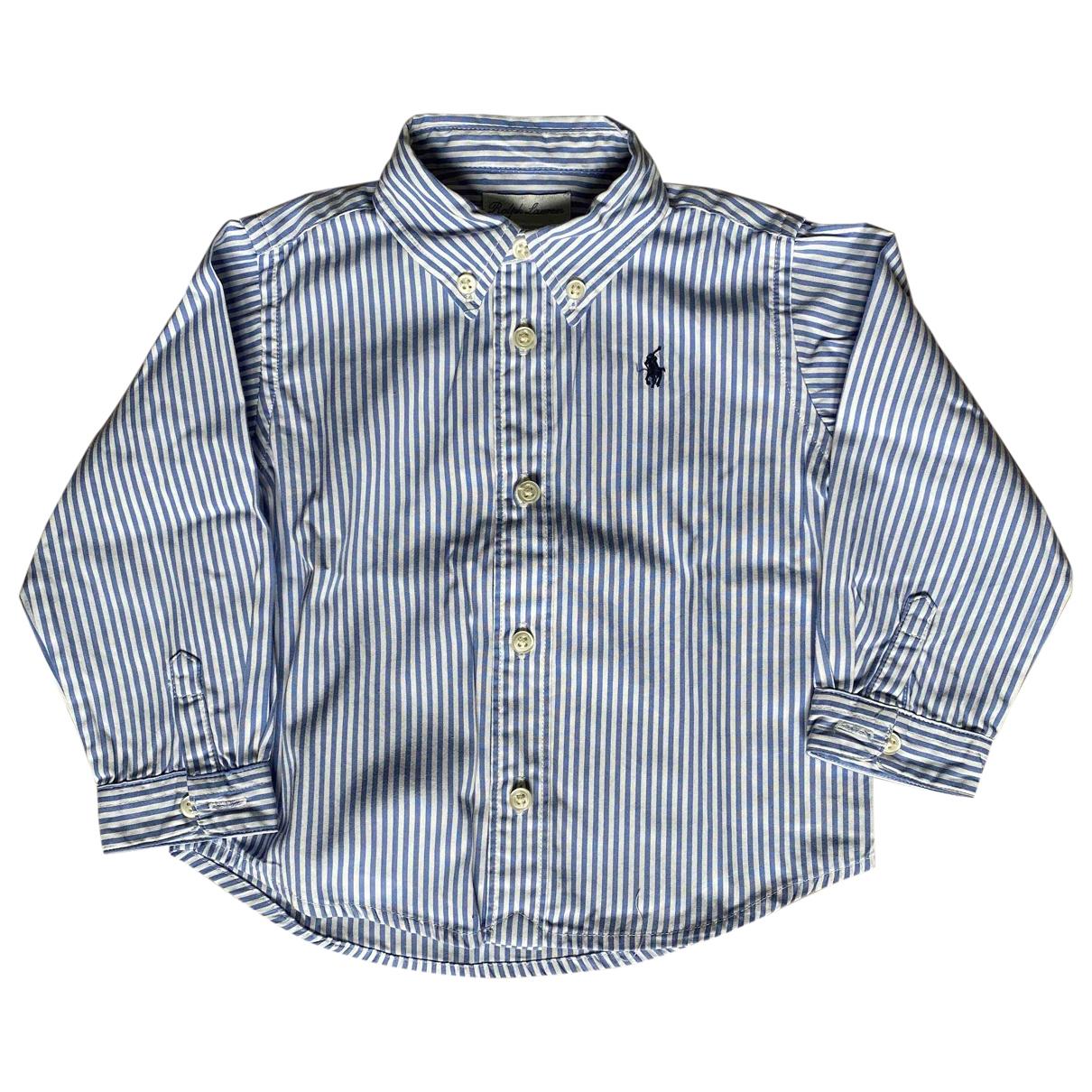 Ralph Lauren \N Oberteile in  Blau Baumwolle