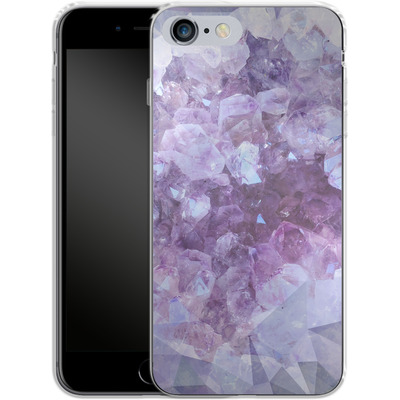 Apple iPhone 6s Plus Silikon Handyhuelle - Light Crystals von Emanuela Carratoni