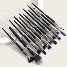 13pcs Duo-fiber Makeup Brush Set