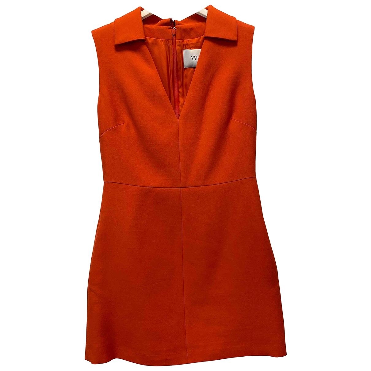 Valentino Garavani - Robe   pour femme en laine - rouge