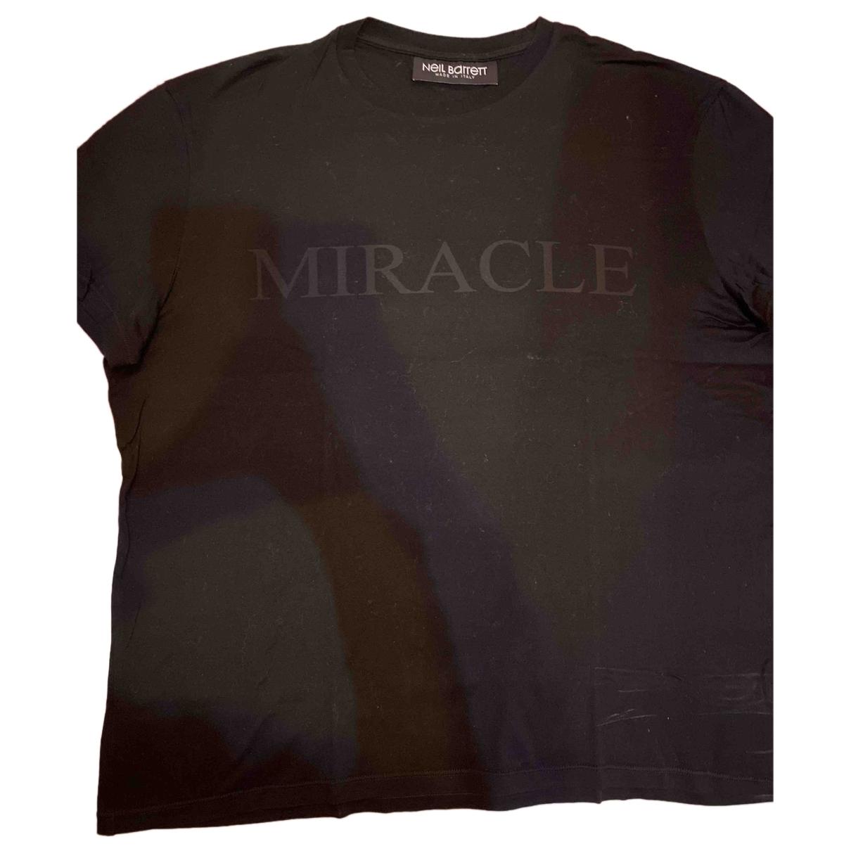Neil Barrett - Tee shirts   pour homme en coton - noir
