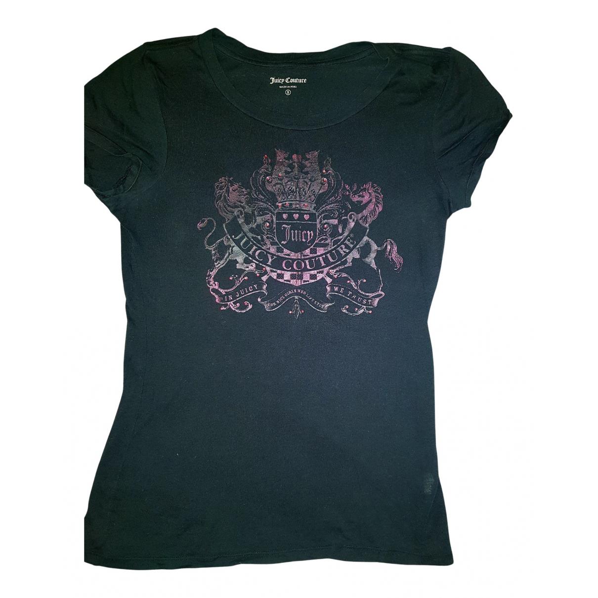 Juicy Couture - Top   pour femme en coton - noir