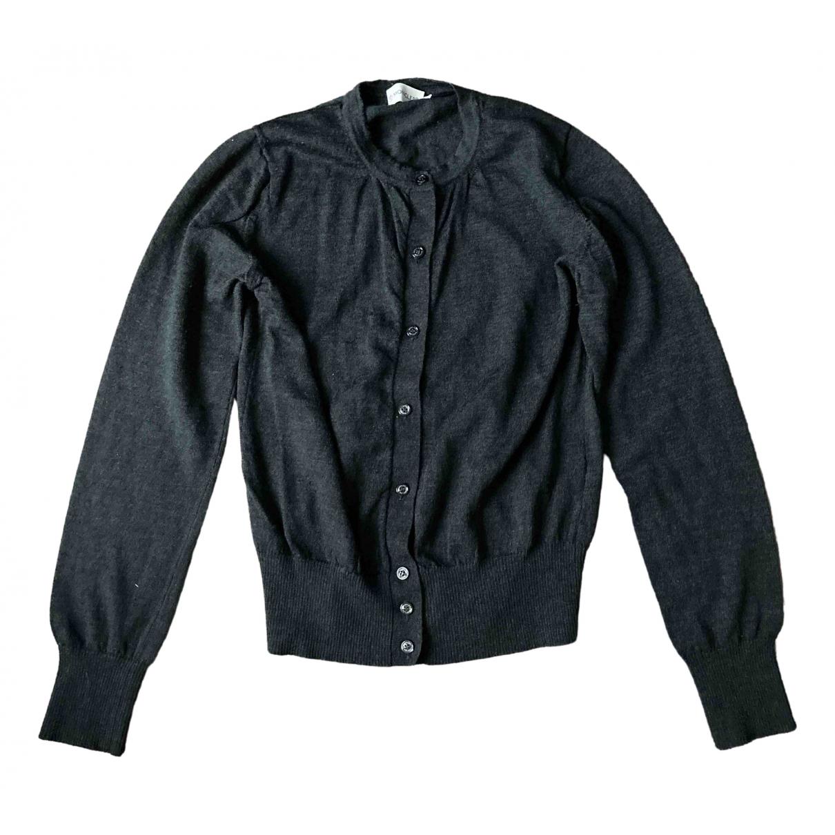 Moncler - Pull   pour femme en laine - gris