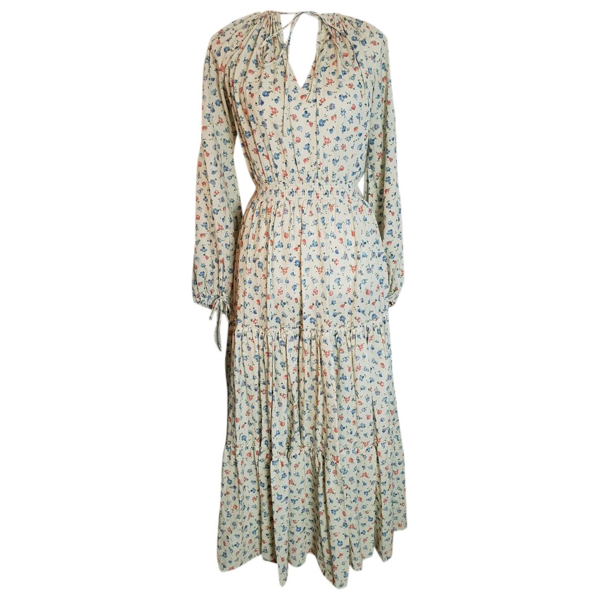 Polo Ralph Lauren - Robe   pour femme en coton - beige