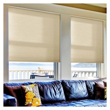 Home Expressions Cut-to-Width Cordless Light-Filtering Cellular Shade, One Size , Multiple Colors