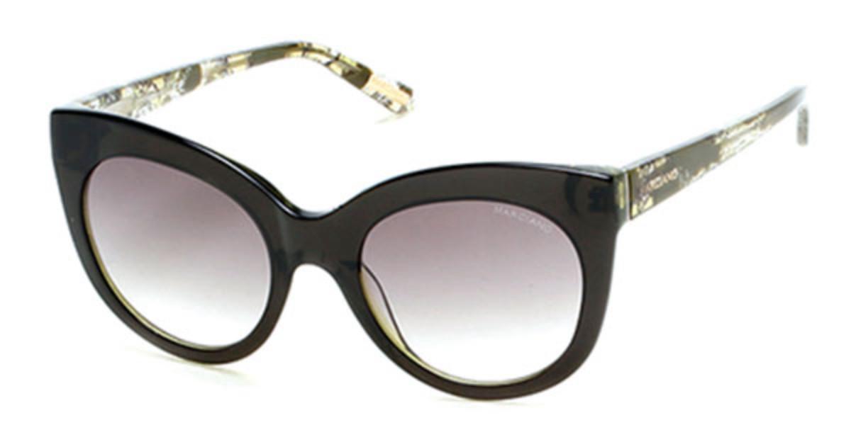 Guess GM 0760 98P Women's Sunglasses Green Size 54