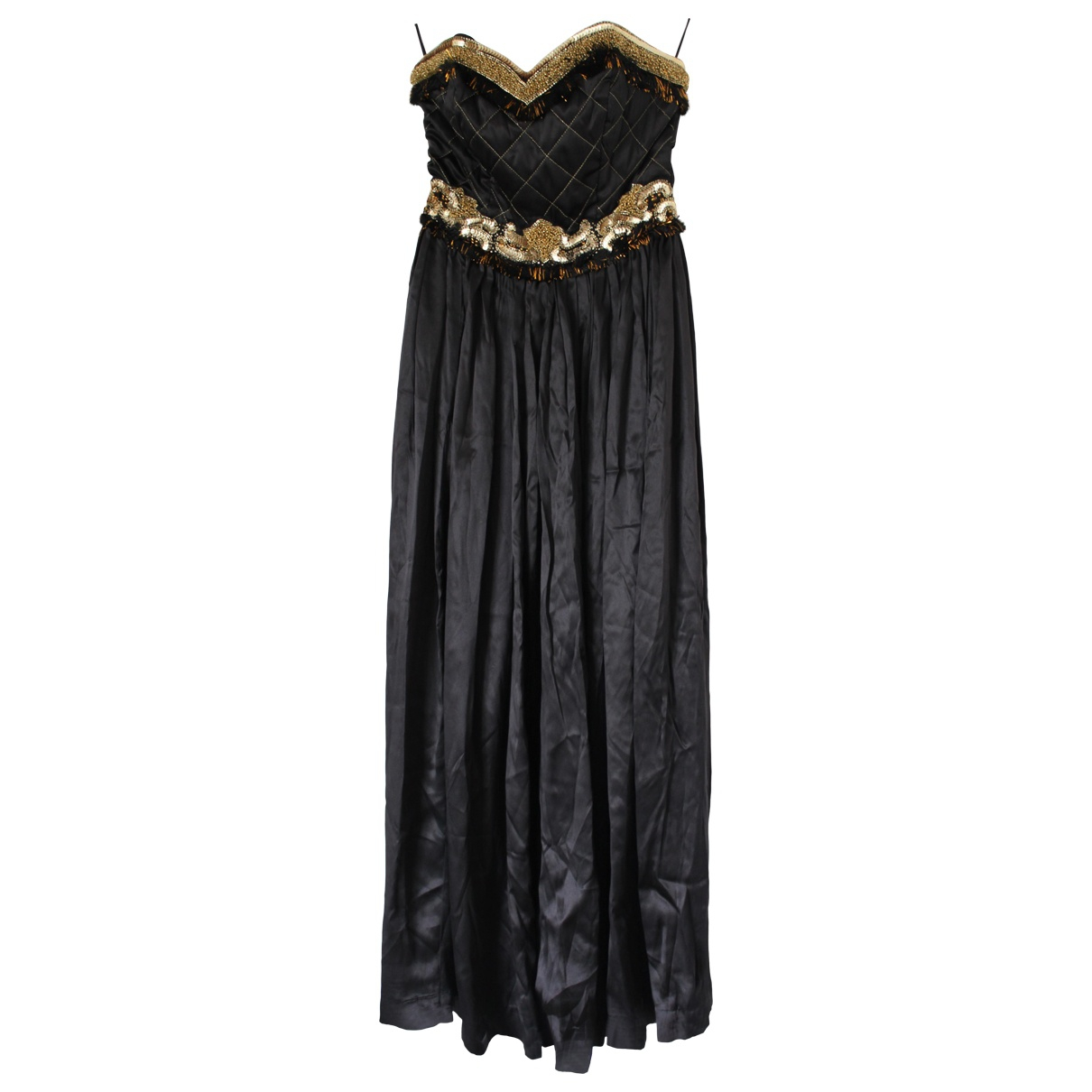 Manoush \N Black Silk dress for Women 38 FR