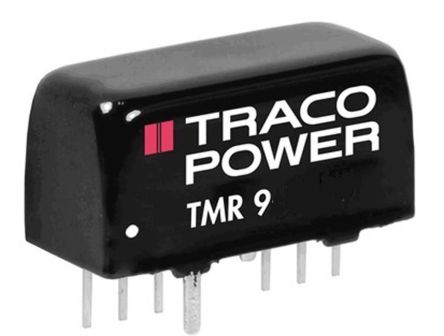 TRACOPOWER TMR 9 9W Isolated DC-DC Converter Through Hole, Voltage in 18 → 36 V dc, Voltage out 9V dc