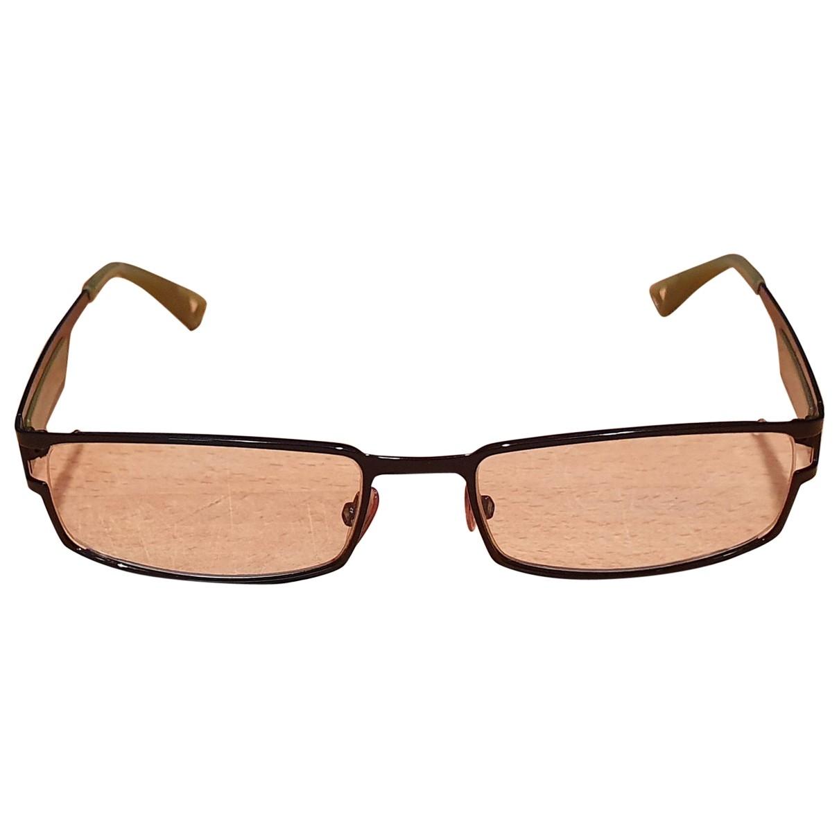 Emporio Armani \N Sonnenbrillen in  Schwarz Kunststoff