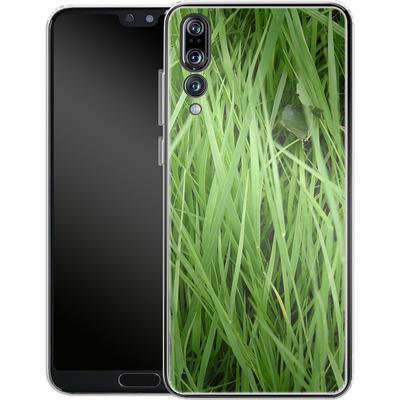 Huawei P20 Pro Silikon Handyhuelle - Grass von caseable Designs