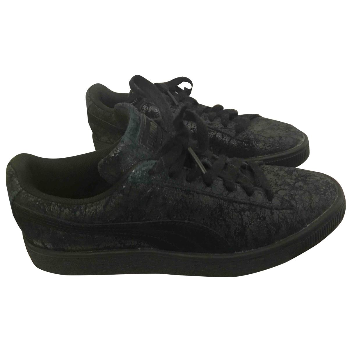 Puma \N Sneakers in  Khaki Leder